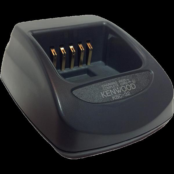 talkie walkie chargeur individuel Kenwood ksc-32s