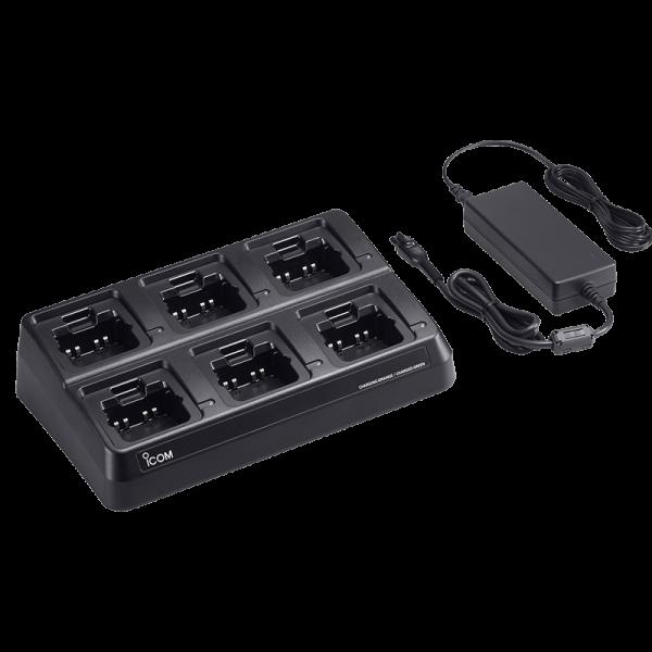 talkie walkie chargeur multiple Icom BC-214